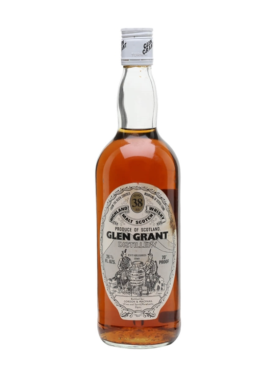 Glen Grant 38 Year Old / Bot.1970s / Gordon & MacPhail Speyside Whisky