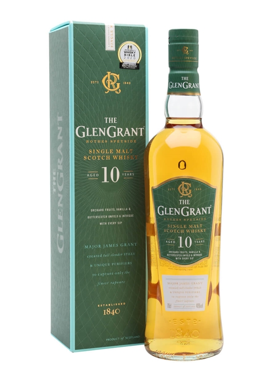 Glen Grant 10 Year Old Speyside Single Malt Scotch Whisky