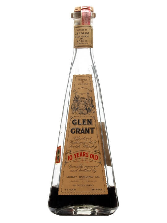 Glen Grant 10 Year Old / Bot.1940s Speyside Single Malt Scotch Whisky