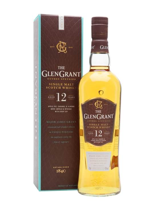 Glen Grant 12 Year Old Speyside Single Malt Scotch Whisky