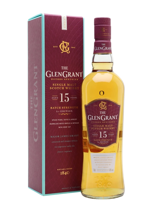 Glen Grant 15 Year Old Batch Strength First Edition Speyside Whisky
