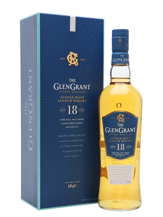 Glen Grant 18 Year Old Speyside Single Malt Scotch Whisky