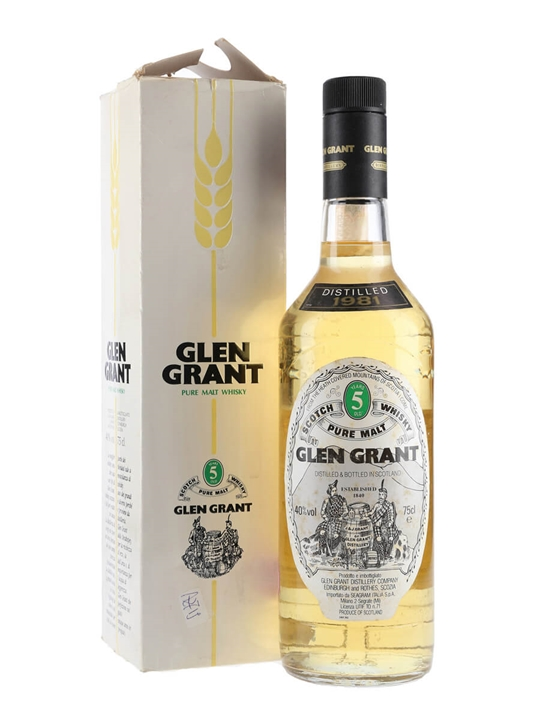 Glen Grant 1981 / 5 Year Old Speyside Single Malt Scotch Whisky