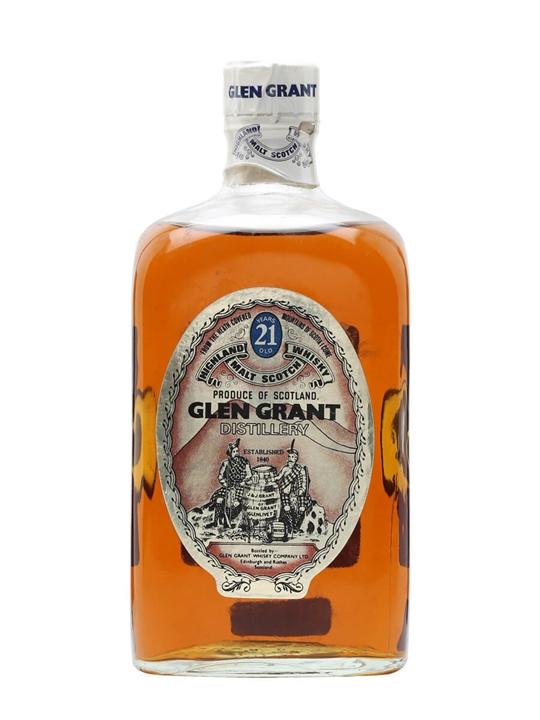 Glen Grant 21 Year Old / Bot.1970s Speyside Single Malt Scotch Whisky