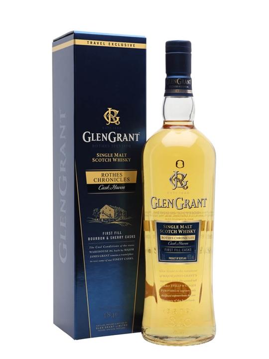 Glen Grant Cask Haven / Litre Speyside Single Malt Scotch Whisky