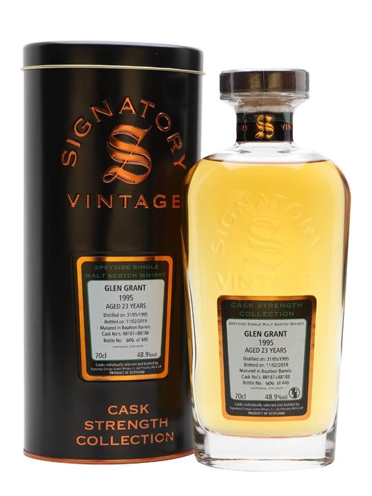 Glen Grant 1995 / 23 Year Old / Signatory Speyside Whisky