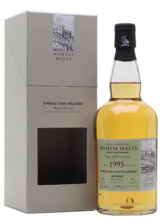 Glen Grant 1995 / Zesty Effervescence / Wemyss Speyside Whisky