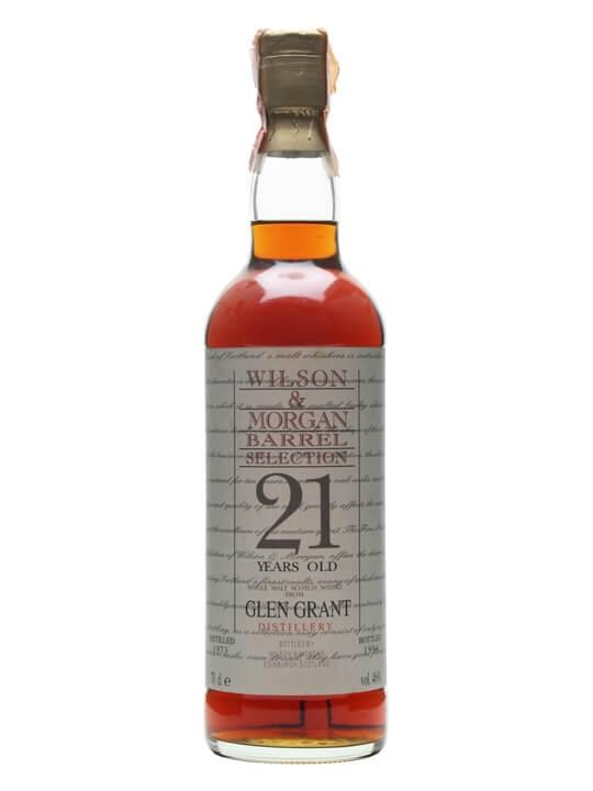 Glen Grant 1973 / 21 Year Old / Wilson & Morgan Speyside Whisky