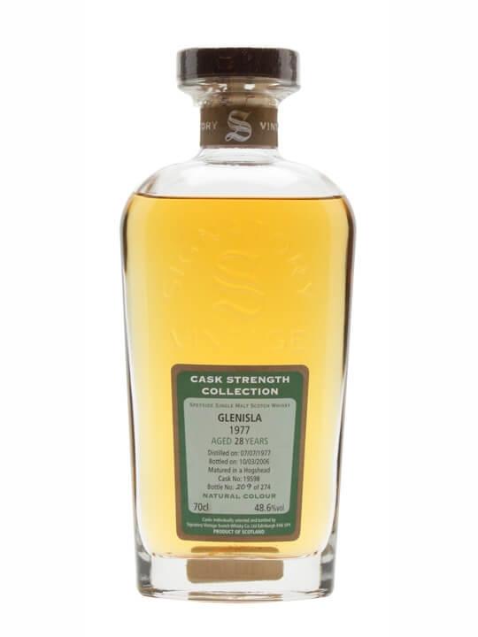 Glenisla 1977 / 28 Year Old / Signatory Speyside Whisky