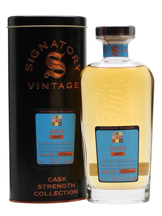 Glenisla 1977 / 39 Year Old / 70ans Velier Speyside Whisky