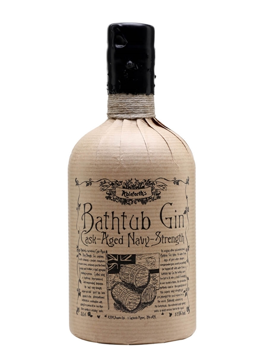 Ableforth's Bathtub Cask Aged Navy Strength Gin