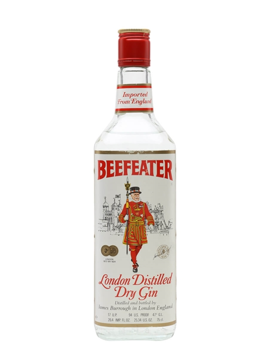 Beefeater Dry Gin / Bot.1980s