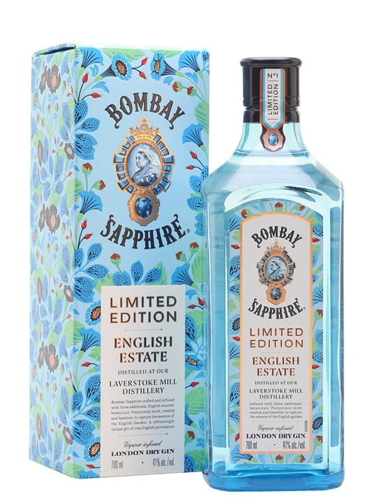 Bombay Sapphire English Estate Gin / Gift Box