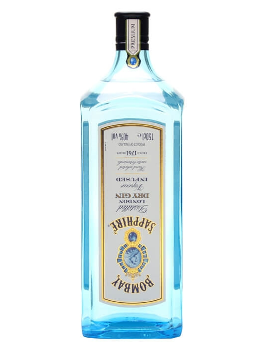 Bombay Sapphire Gin / Large Bottle