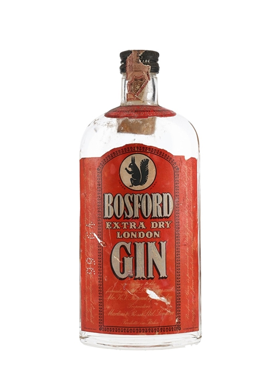 Bosford Extra Dry London Gin / Bot.1960s