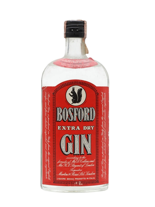 Bosford Extra Dry Gin / Bot.1970s