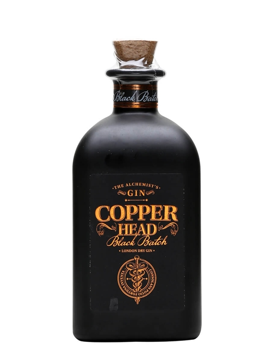 Copperhead Black Batch London Dry Gin 50cl