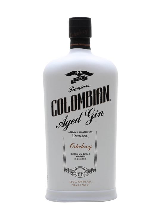 Dictador Colombian Age White Dry Gin / Ortodoxy