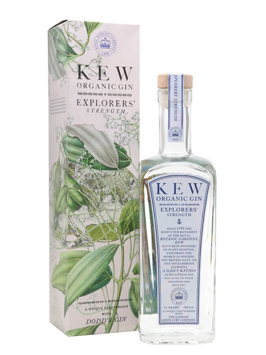 Kew Organic Gin Explorers Strength