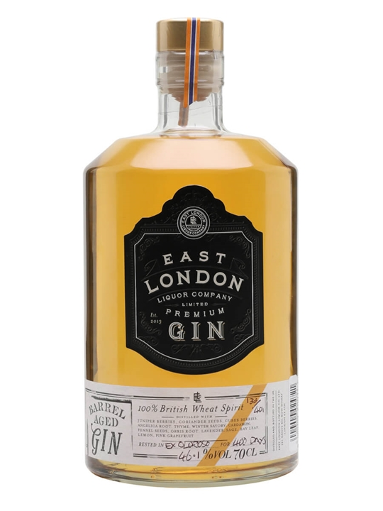 East London Liquor Ex-oloroso Barrel Aged Gin