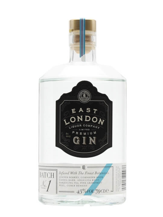 East London Liquor Premium Gin / Batch 1