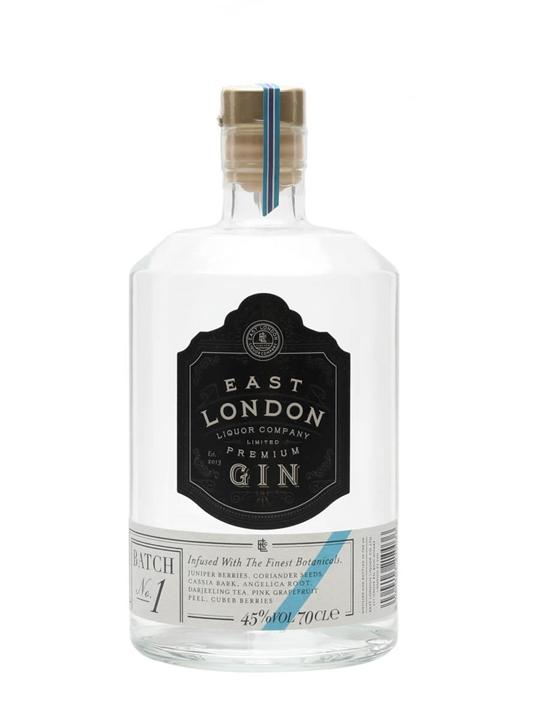 East London Liquor Premium Gin / Batch 1