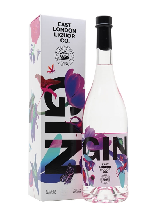 East London Kew Gardens Collaboration Gin