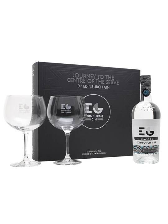 Edinburgh Gin A Journey to the Centre of the Serve Glass Pack