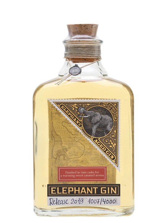 Elephant Aged Gin / Rum Cask Finish