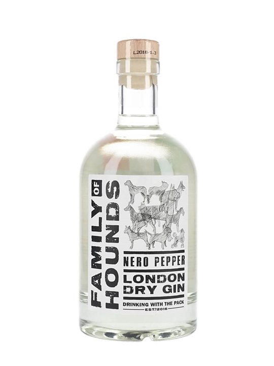 Family of Hounds Nero Pepper London Dry Gin