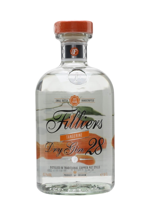 Filliers Dry Gin 28 / Tangerine Edition 50cl