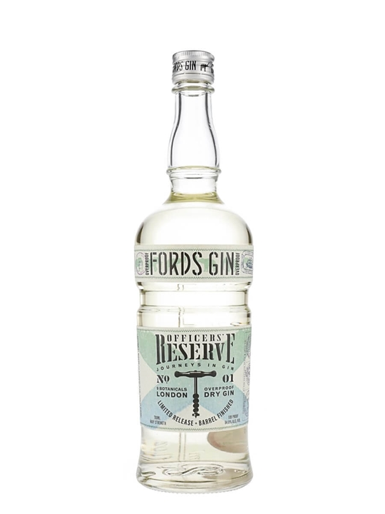 Fords Officers Reserve Overproof Gin / Barrel Aged
