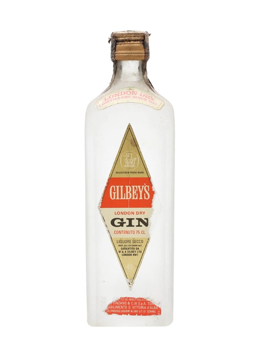Gilbey's London Dry Gin / Bot.1970s
