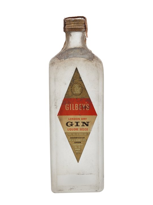 Gilbey's London Dry Gin / Bot.1960s