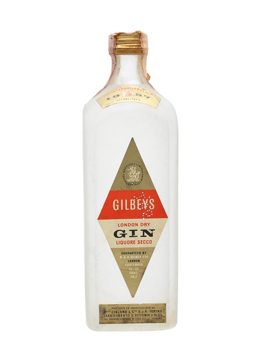 Gilbey's London Dry Gin / Bot.1950s