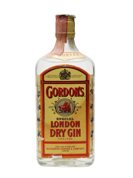 Gordons Dry Gin  Bot.1990s
