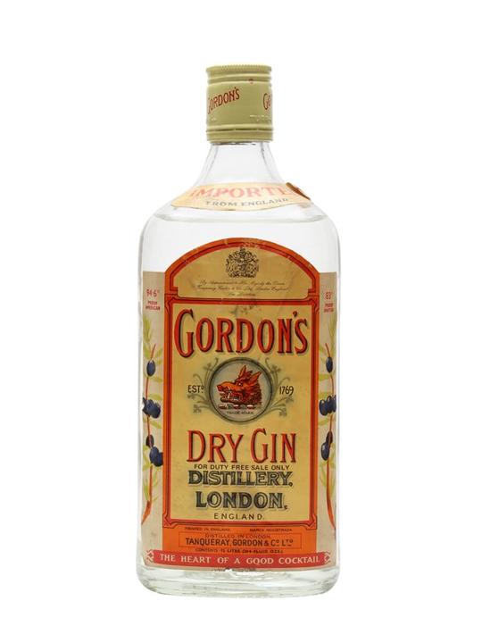 Gordon's Dry Gin / Bot.1970s