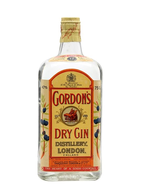 Gordon's Dry Gin / Bot.1960s