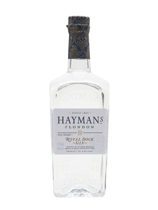 Hayman's Royal Dock Gin / Navy Strength