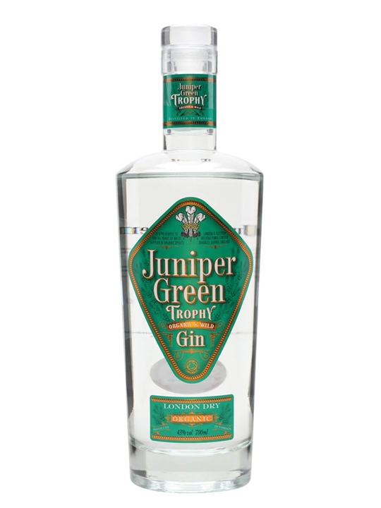 Juniper Green Trophy Organic Gin 70cl