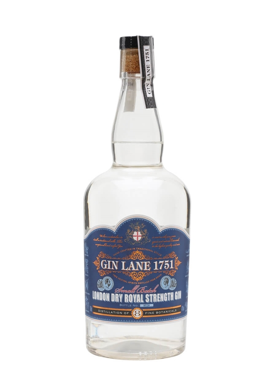 Gin Lane 1751 London Dry Royal Strength Gin 70cl