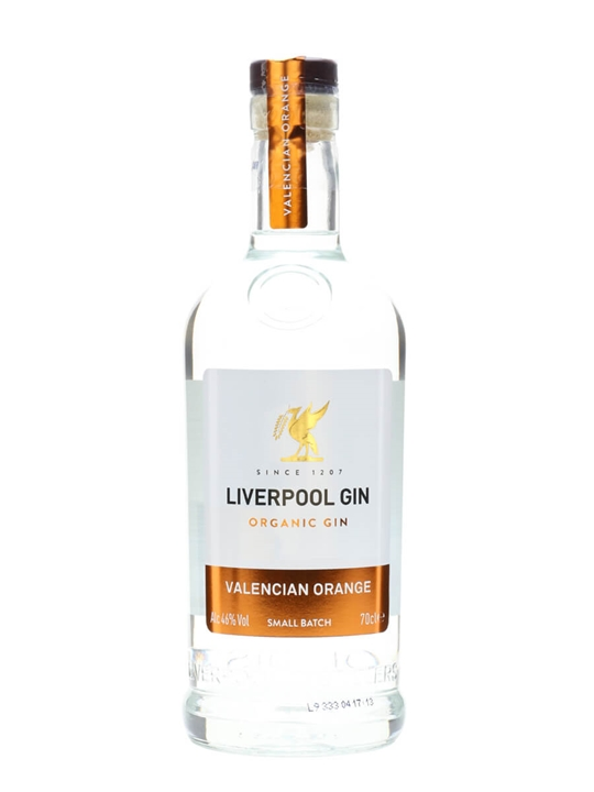 Liverpool Small Batch Gin / Valencian Orange