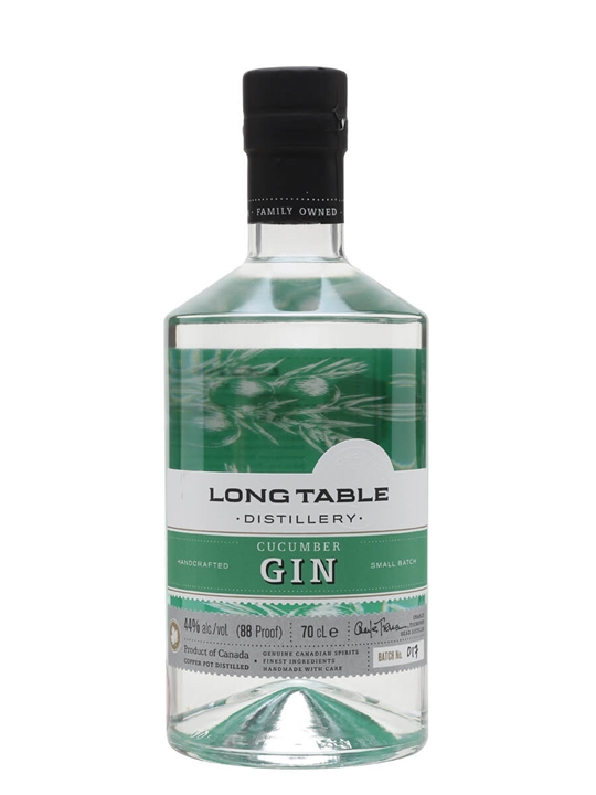 Long Table Distillery Cucumber Gin