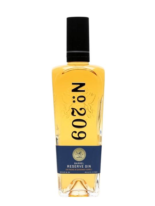No.209 Chardonnay Barrel Reserve Gin 70cl