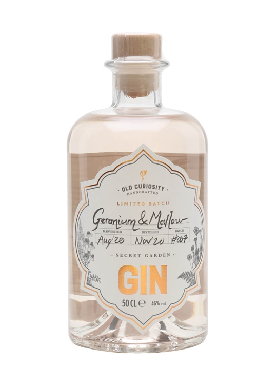 Old Curiosity Geranium and Mallow Limited Batch Gin