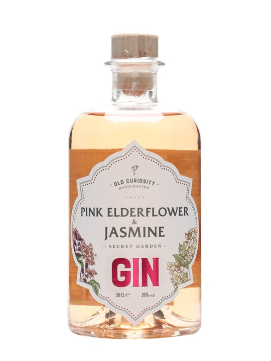 Old Curiosity Pink Elderflower and Jasmine Gin