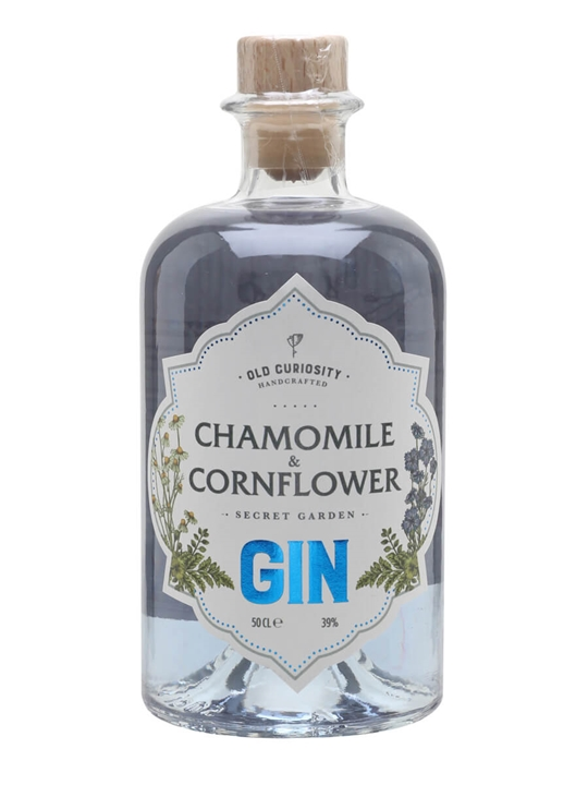 Old Curiosity Cornflower and Chamomile Gin