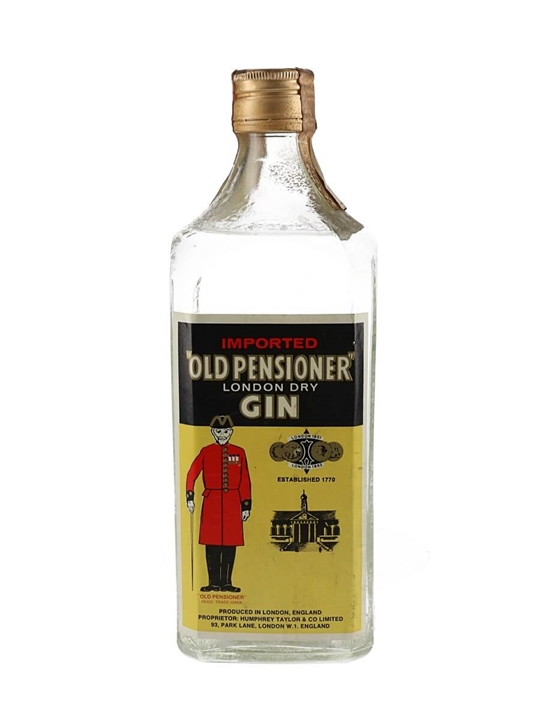 Old Pensioner London Dry Gin / Bot.1960s