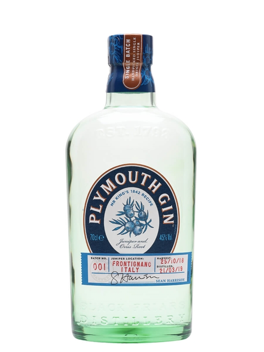 Plymouth Mr King's 1842 Recipe Gin