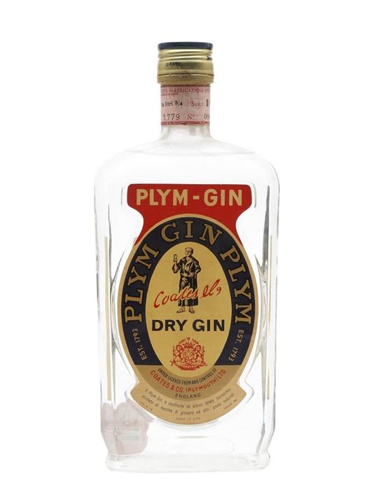 Plym Dry Gin / Coates & Co / Bot.1970s